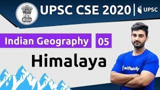 10:00 AM - UPSC CSE 2020 | Indian Geography by Sumit Sir | Himalaya
