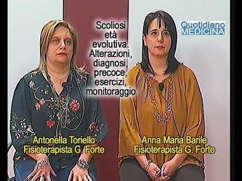 Scoliosis 2 gradi a sinistra