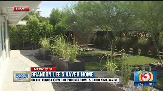 Brandon Lee's Haver home makes the cover of Phoenix Home & Garden (part 2)