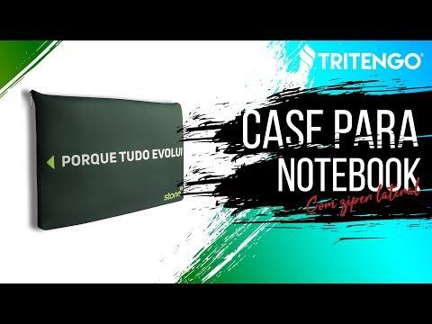 """Case para Notebook Zíper Lateral Personalizado 15,6"""" para Brindes Corporativos"""