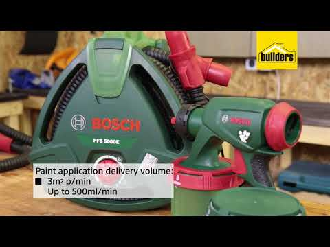 Bosch PFS 5000 Spray Gun Review