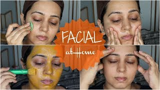 How to do Facial At Home with Honey