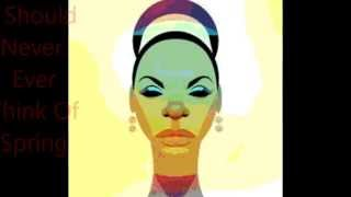''I Get Along Without You Very Well' By Nina Simone