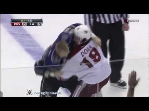 Dustin Brown vs. Shane Doan