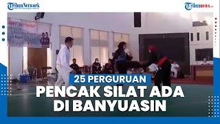 25 Perguruan Pencak Silat Ada di Banyuasin