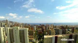 #Benidorm #timelapse from #skyscraper (#GoPro Hero3 Black)