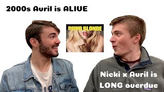 DUMB BLONDE - AVRIL LAVIGNE FEATURING NICKI MINAJ REACTION/REVIEW