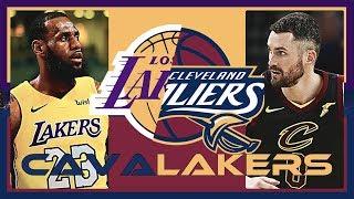 NBA球隊概況第一集【騎士、湖人篇】- LKBL來看球