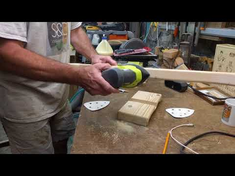 RYOBI ONE+ 18V CORNER CAT FINISH SANDER Review