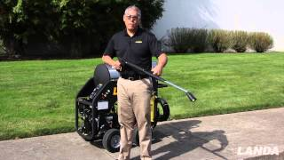 Landa MHC Pressure Washer - Variable Pressure Wand (video #4 of 5)