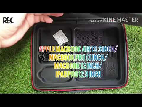 Smatree Carry Case for 12-13.3 inch MacBook Laptop (Black)