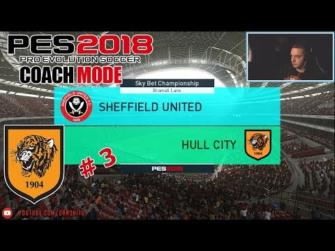 #3 PES 2018 - Championship to Premier League! Hull City