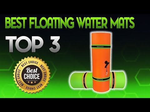 Best Floating Water Mats 2019 - Floating Water Mat Review