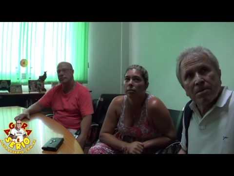 Prefeito Fernandão Junto com os Munícipes afetados pela enchente de Lama em um acordo Firmado com o Proprietário do Terreno Vermelho