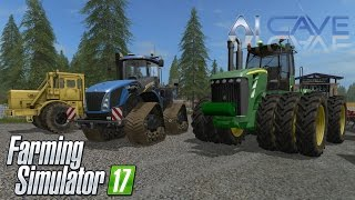 Farming Simulator 17 Tractors Mods: New Holland T9 John Deere 9630 Kirovets (PC ModHub)