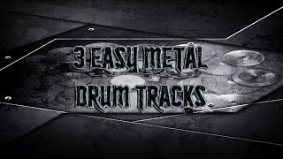 3 Easy Metal Drum Tracks | Preset 2.0 (HQ,HD)