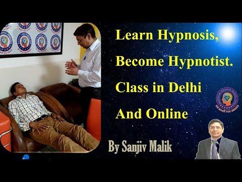 Learn online Hypnotism, Hypnosis. 2 Days Practical Hypnotherapy workshop Delhi & Online #SanjivMalik