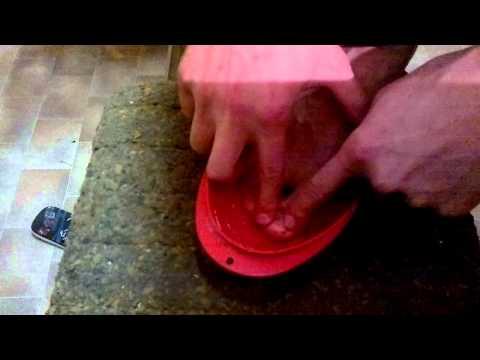 Mikosoral von gribka auf den Nägeln