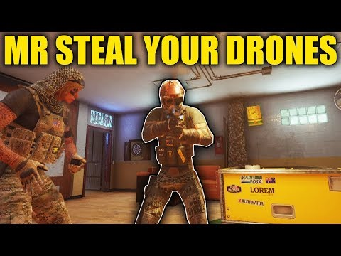 MR STEAL YOUR DRONE! - Rainbow Six Siege Operation Burnt Horizon
