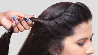 Quick & Most Beautiful Hairstyles For Long Hair Girls    Simple Hairstyles   New Juda