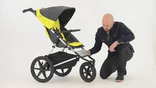 Mountain Buggy Terrain Premium-Jogger 3-Rad Kinderwagen | KidsComfort.eu