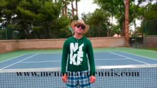 How To Hit A Flat Serve In Tennis