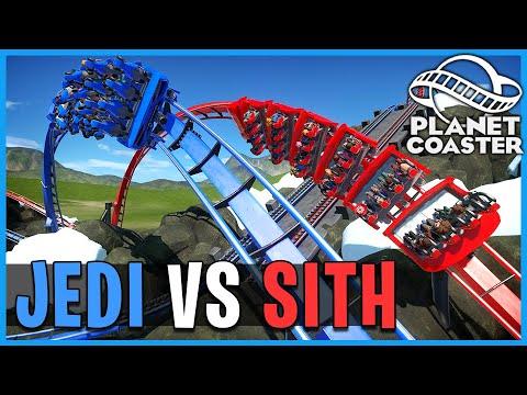 Duel of Fates: Jedi vs Sith! Planet Coaster: Coaster Spotlight 750