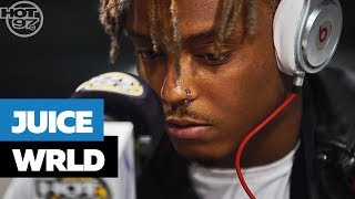 JUICE WRLD FREESTYLE ON FUNK FLEX | #FREESTYLE101