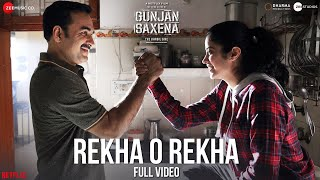 Rekha O Rekha - Full Video| Gunjan Saxena |  Janhvi Kapoor | Amit Trivedi| Nakash Aziz| Kausar Munir