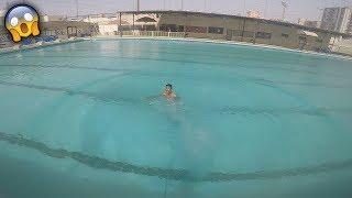 حجزنا اكبر مسبح بالكويت!! (لا يفوتكم)