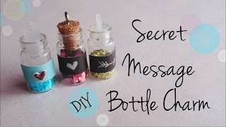 DIY Secret Message Bottle Charm