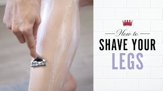 How to Shave Your Legs: Proper Shaving Routine with Tips on that perfect shave