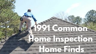 Pretty Common Home Inspection Issues