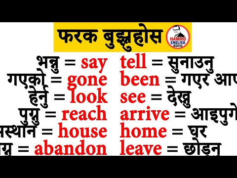 Online English Class in Nepal. Learn English through Nepali for Free. Daily Speaking Practice.