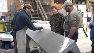 Finishing Concrete Surfaces the easy way - GFRC, Glass Fiber Reinforced Concrete