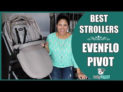 Evenflo Pivot Travel System Stroller for Baby REVIEW!