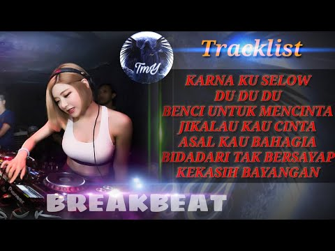 LAGU INDO PALING KEREN DJ BREAKBEAT 2019 MIXTAPE KARNA KU SELOW DI JAMIN BASS NYA MANTUL