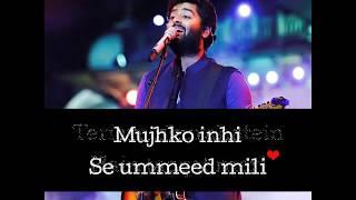 Humdard - Arijit Singh - Ek Villain - Lyrical WhatsApp Video