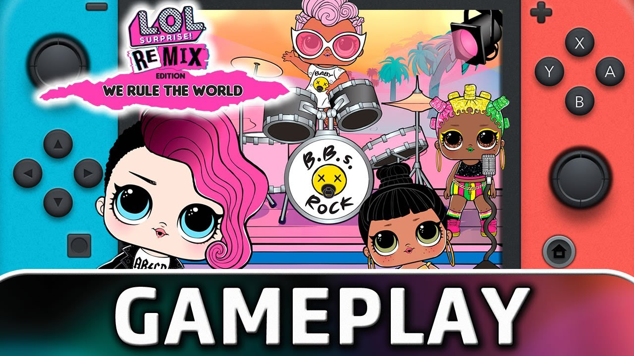 L.O.L. Surprise! Remix: We Rule The World | Nintendo Switch Gameplay