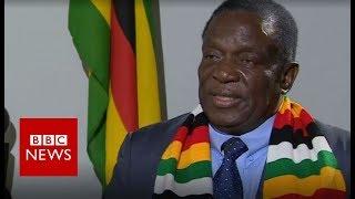 Zimbabwe President Mnangagwa says country is
