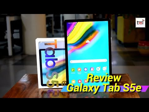 Samsung Galaxy Tab S5e Review: Cab't replace your Laptop