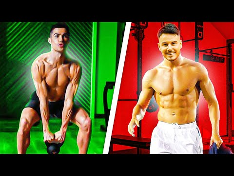 RONALDO TAKES ME THROUGH HIS WORKOUT 💪🏼 | WE SHOW YOU HOW TO GET HIS POWER 🔋