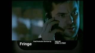 "Fringe 1x12 ""The No-Brainer"" Promo"