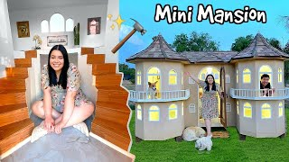 We Built A Mini Mansion! Final Reveal..Turning My House Miniature Pt 2/2