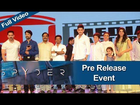 Spyder Movie Pre Release Event