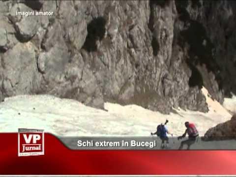 Schi extrem în Bucegi