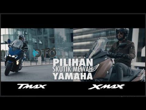 Pilihan Skutik Mewah Yamaha: Xmax dan Tmax I OTO.com
