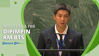 RM BTS Memimpin Pidato di Acara United Nations General Assembly UNGA Mewakili Anggota BTS Lainnya