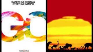 Danny da Costa & Steff da Campo & douster   Go king of afrika (trijandie's mix)