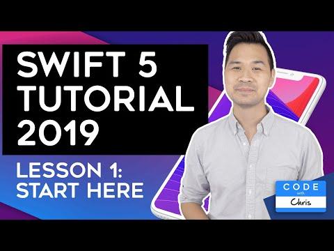 (2020) Swift Tutorial for Beginners: Lesson 1
